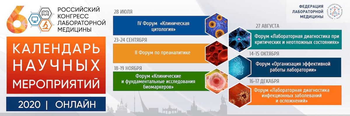 VI Российский конгресс лабораторной медицины